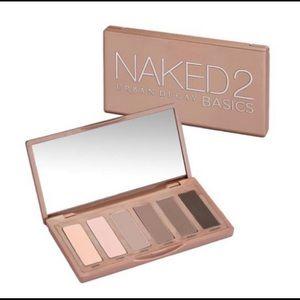 Urban decay naked 2 basics eyeshadow palette